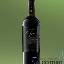Вино Важа Гранд Кру Каберне-Мерло Сухе червоне Шабо, Vaja Grand Cru Shabo 0,75 Л.
