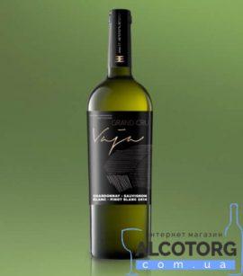 Вино Важа Гранд Кру Шардоне-Совиньйон Блан-Піно Блан сухе біле Шабо