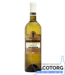 Вино Вазісубані Марані біле сухе, Marani 0,75 л.