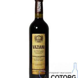 Вино Алазанська Долина Вазіані Червоне Напівсолодке, Vaziani 0,75 Л.