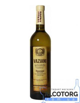 Вино Піросмані Вазіані біле напівсухе, Vaziani Pirosmani 0,75 л.
