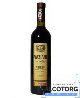 Вино Піросмані Вазіані Червоне Напівсухе