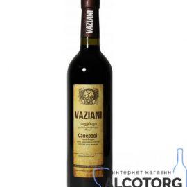 Вино Сапераві Вазіані червоне сухе, Vaziani Saperavi 0,75 л.