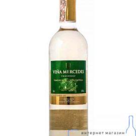 Вино Вінья Мерседес Шардоне біле сухе, Vina Mercedes Chardonnay 0,75 л.