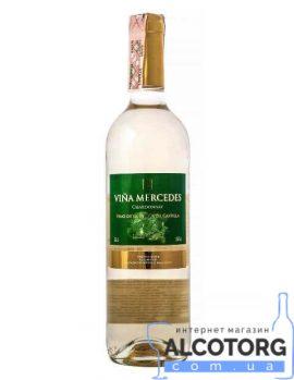 Вино Вінья Мерседес Шардоне біле сухе