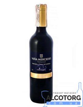 Вино Вінья Мерседес Темпранільо червоне сухе, Vina Mercedes Tempranillo 0,75 л.