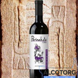 Вино виноградне напівсолодке червоне Паринакота, Parinakota 0,75 Л.