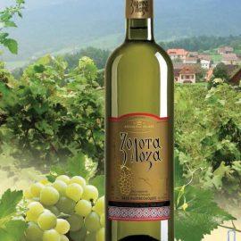 Вино Золота Лоза біле напівсолодке 0