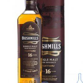 Віскі Бушміллс 16 років, Bushmills 16 Years 0,7 л.