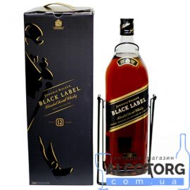 Віскі Джонні Уокер Блек Лейбл, Johnnie Walker Black label 3 л.