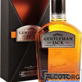 Віскі Джентльмен Джек в коробці, Gentleman Jack 0,7 л.