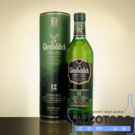 Віскі Гленфіддік 12 років, Glenfiddich 12 years 1 л.