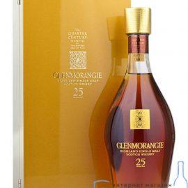 Віскі Гленморанджі 25 років в коробці, Glenmorangie 25 years in gift box 0,7 л.