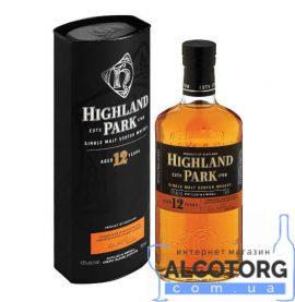 Віскі Хайленд Парк 12 років, Highland Park 12 years old 0,7 л.