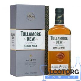 Віскі Талмор Дью Сінгл Молт 14 років, Tullamore Dew Single Malt 14 years 0,7 л.