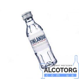 Горілка Фінляндія, Finlandia Vodka 0,05 л.
