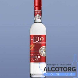 Горілка Хеллоу Люкс Шабо, Hello luxe Vodka Shabo 0,5 Л.