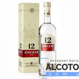 Водка анисовая Узо 12, OUZO 12 1 л.