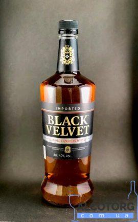 Віскі Блек Вельвет, Black Velvet 0,7 л.