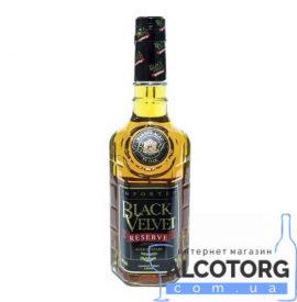 Віскі Блек Вельвет Резерв, Black Velvet Reserve 0,7 л.