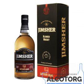 Віскі Джимшер Сапераві Каск в коробці, Jimsher Saperavi Casks with box 0,7 л.