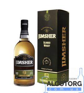 Віскі Джимшер Цинандалі Каск в коробці, Jimsher Tsinandali Casks with box 0,7 л.
