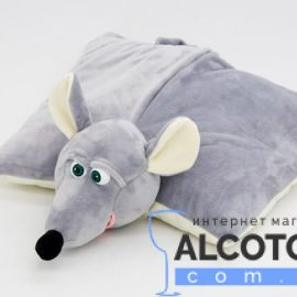 Новогодний подарок подушка крысюшка 800 г.