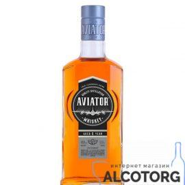 Виски Авиатор 5 лет, Aviator 5 years old 0,5 л.