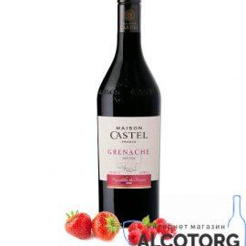 Вино Мейсон Кастель Гренаш червоне напывсолодке, Maison Castel Grenache Medium Sweet 0,75 л.