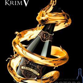 Шампанське Гранд Кюве Вілла Крим біле напівсухе, Grand Cuvee Villa Krim 0,75 л.