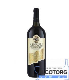 Вино Алазанська Долина Азнаурі біле напівсолодке, Aznauri 1,5 л.