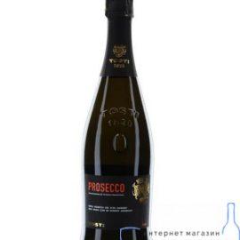 Вино ігристе Тості Просекко біле екстрасухе, Tosti Prosecco D.O.C. 0,75 л.