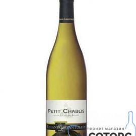 Вино Ролан Лавантюро Пті Шаблі сухе біле, Roland Lavantureux Petit Chablis 0,75 л.