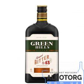 Бальзам Грін Хіллс Біттер 43%, Green Hills Bitter 43% 0,5 л.