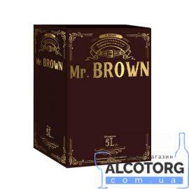 Напій алкогольний Шоколат'є Шоколад та Вишня Мр.Браун, Mr.Brown 5 літрів.