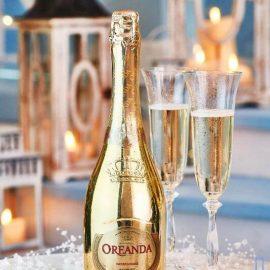 Шампанське Ореанда Преміум біле напівсолодке, Oreanda Premium 0,75 л.