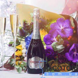 Шампанське Ореанда Брют біле, Oreanda Brut 0,75 л.
