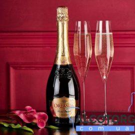 Шампанське Ореанда Крістал біле напівсолодке, Oreanda Crystal Semi Sweet 0,75 л.