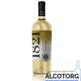 Вино Шардоне Болград Селект біле сухе, Chardonnay Bolgrad Select 0,75 л.