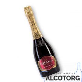 Вино ігристе Ореанда червоне напівсолодке, Oreanda 0,75 л.