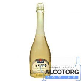 Вино ігристе Сан Мартіно Асті біле солодке, San Martino Asti 0,75 л.