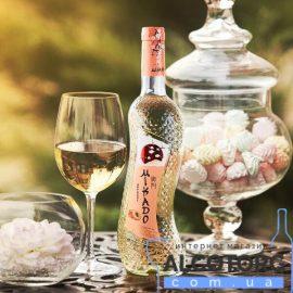 Вино Мікадо Абрикос Біле солодке, Mikado 0,7 л.