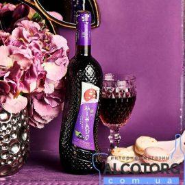 Вино Мікадо Чорна Смородина Червоне солодке, Mikado 0,7 л.