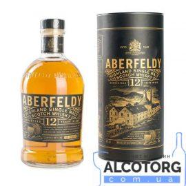 Віскі Аберфельді 12 років витримки, Aberfeldy 12 years old 0,7 л.