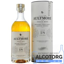 Виски Олтмор 18 летний, Aultmore 18 Years Old 0,7 л.
