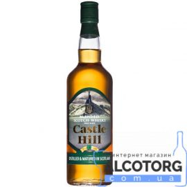 Виски Кастел Хилл Бленд, Castle Hill Blended Scotch whisky 0,7 л.