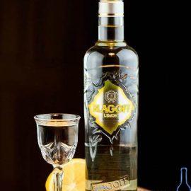 Горілка Благофф Лимон, Blagoff Lemon 0,5 л.