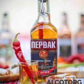 Водка Первак Перцовая с медом 0,25 л.