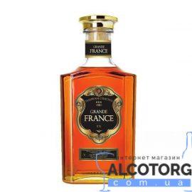 Коньяк Гранд Франс 3 звезды, Grande France 3* 0,5 л.