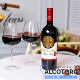 Вино Ореанда Піно Нуар червоне напівсолодке, Oreanda Pinot Noir 1,5 л.